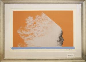 Kimmo Kaivanto - Oranssia vasten - Serigrafia