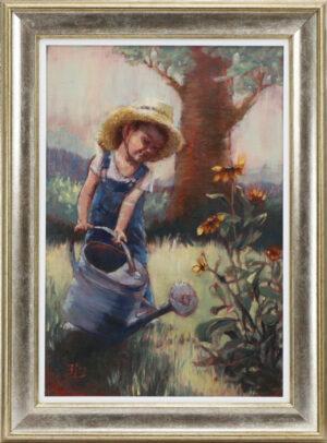 Emilia leinonen - Pieni puutarhuri