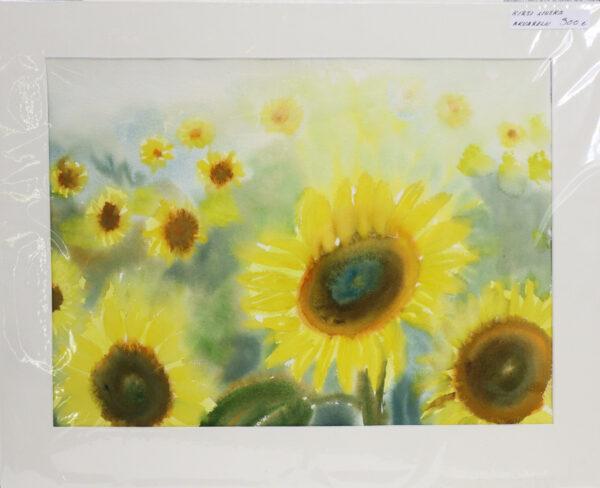 Kirsi Liuska - Auringonkukat