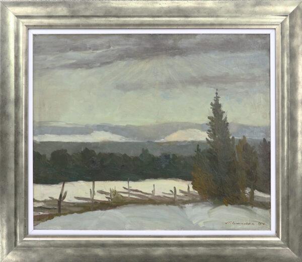 Eero Nelimarkka -Talvimaisem