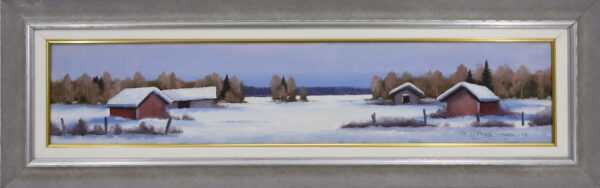 Pertti Salmi - Talvimaisema