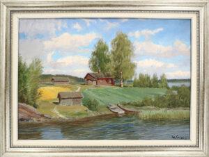 Wille Salonen - Rantamaisema