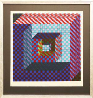 Victor Vasarely - Serigrafia