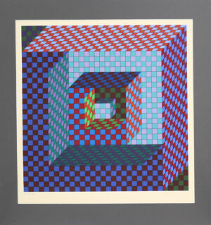Victor Vasarely - Abstrakti I