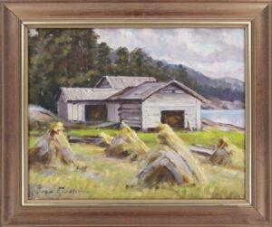 Ina Sjöström - Kuhilaat - Öljyvärimaalaus
