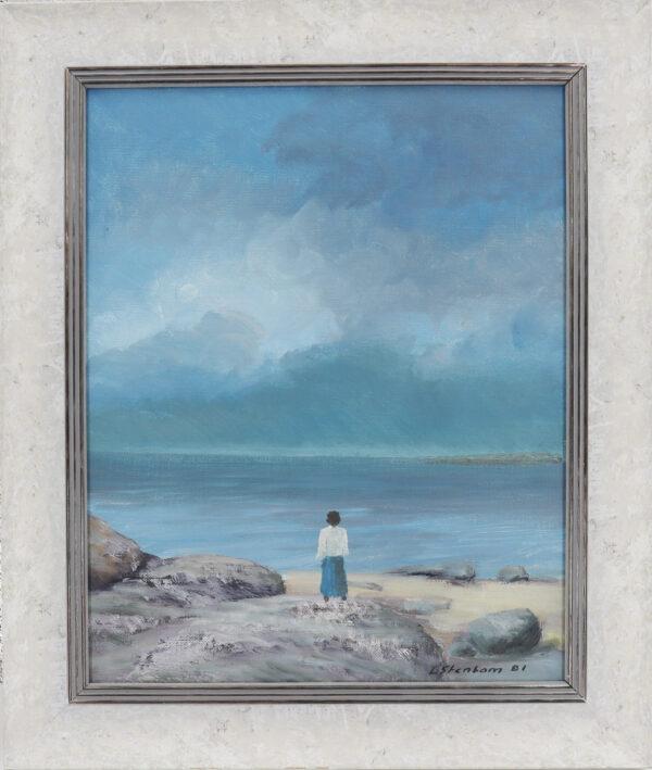 Lasse Stenbom - Tyttö rannalla