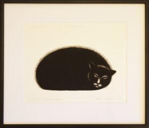 Frans Toikkanen - Nukkuva kissa