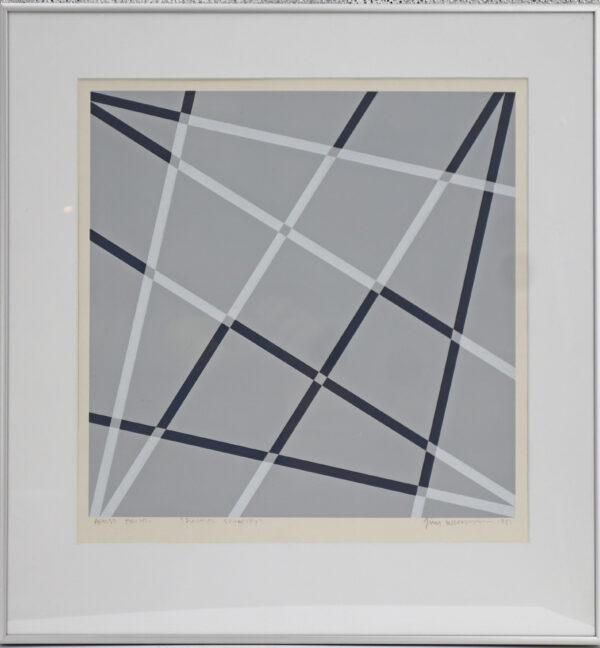 Jim Wichman - Diagonal symmetry
