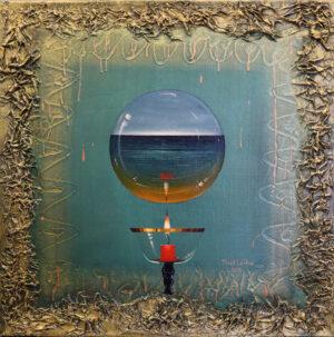 Terry Laakso - Onnellinen tulevaisuus - - Öljyvärimaalaus