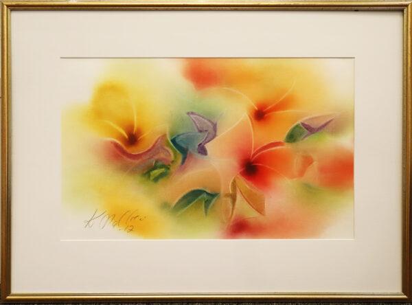 Keijo Malkki - Tosca - Akvarelli