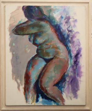 Jouko Solonen - Alaston 2 - Akryylimaalaus