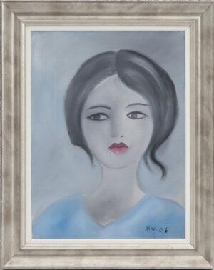 Kati Voutilainen - Katse - Akryylimaalaus