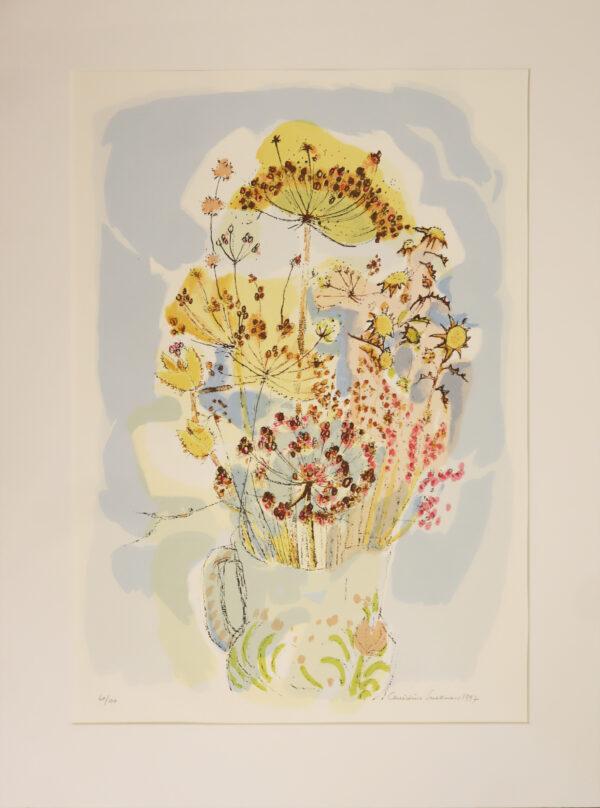 Christina Snellman - Kesäkimppu - Serigrafia