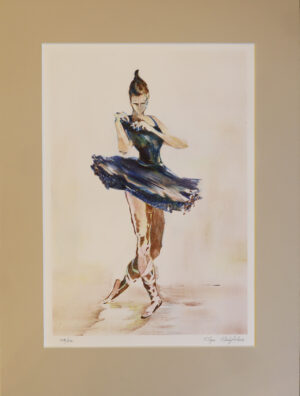 Olga Malytcheva - Tanssija - Serigrafia