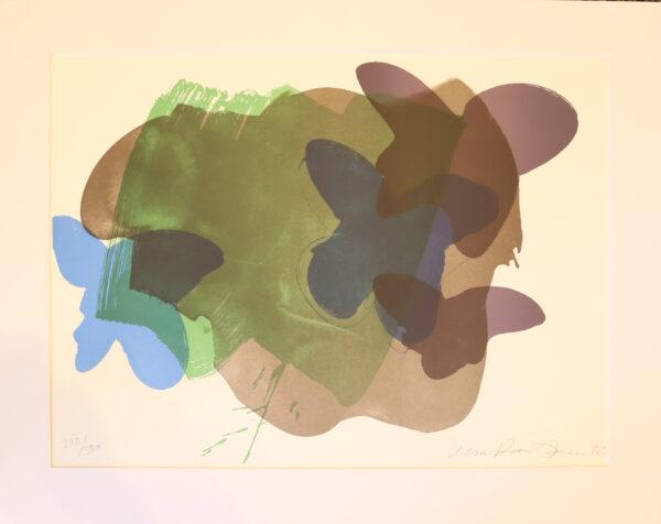 Ulla Rantanen - Perhoset - Litografia