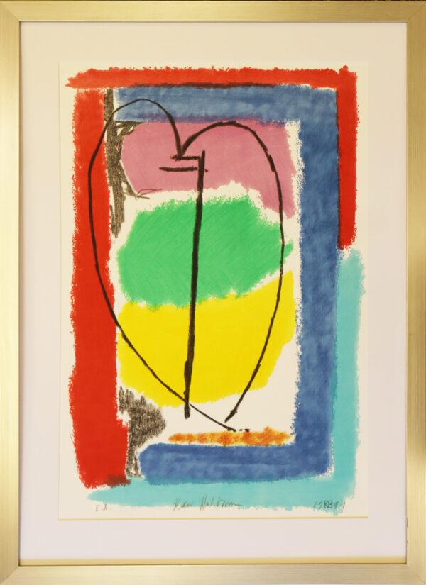 Kari Huhtamo - Artic spring light 5 - Serigrafia