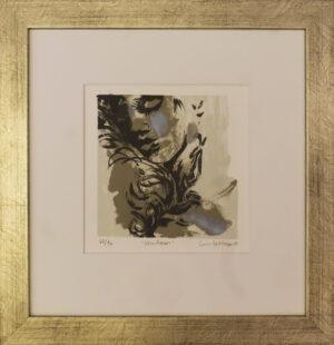 Essi Peltonen - Shadows - Serigrafia
